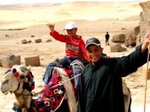 Camel Driver and Son